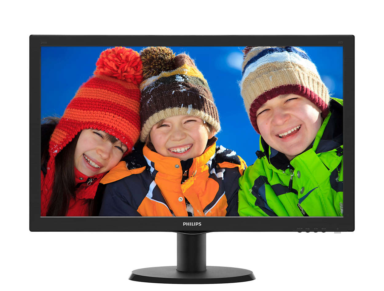 23.6 Philips 243V5LSB5/00 1920x1080, VGA+DVI 5ms